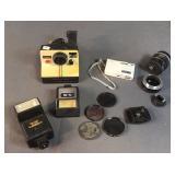 Polaroid, Nikon Coolpix S5, Kodak Lights