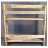 32 x 30 Wood Primitive Shelf