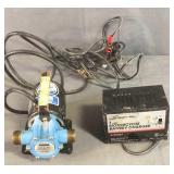 Battery Charger & Transfer Pump