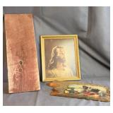 Wood, Jesus, Fruit Decor