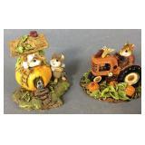 Wee Forest Folk Tractor & Pumpkin House
