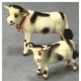 Wagner Kunstlerschutz Vintage Handmade Cows