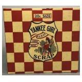 Yankee Girl Scrap Tabacco Box