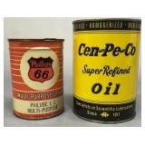 2 Grease/Oil Cans