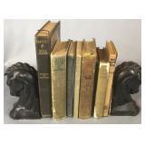 Antique Books & Book Ends