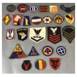 25- Military Sleeve Patches