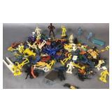Flat Of Plastic Figurines