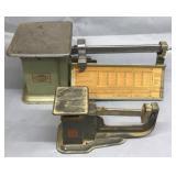2- Triner Vintage Postal Scales
