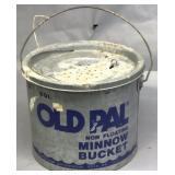 Old Pal Minnow Bucket