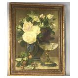 Early Flower Print Framed