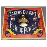 Bakers Delight Baking Powder Sign