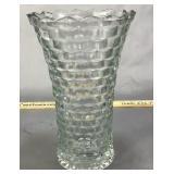 "10"" Fostoria American Pattern Vase"