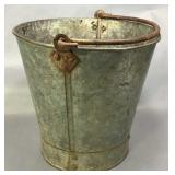 Galvanized Bucket With Forged Handle