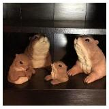 Set of Prairie Dogs
