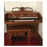 Yamaha Electone Electric Church Organ with Bench