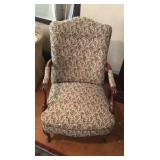 Needlepoint Embroider Chair