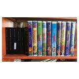 Lot of kids VHS tapes