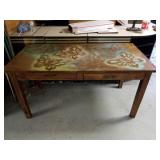 Wooden Desk w/ 2 Drawers