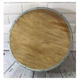 Large Round Vintage Cheese Box