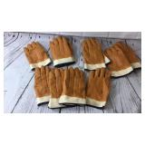 Large lot of Rubber Cloth Gloves