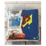 New Disney Cars Twin Size Blanket