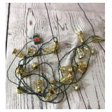 15 ft Mini Gold Lantern Lights