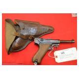 Erfurt Luger 9mm Pistol