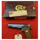 Colt Government Model .45 auto Pistol