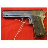 Colt 1903 Hammer .38 auto Pistol