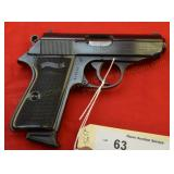 Walther PPK/S .380 Pistol