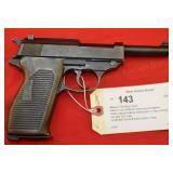 Mauser/IAC P38 9mm Pistol