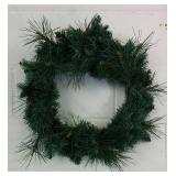 """2 Christmas Wreaths Approx 22"""" Wide Each- NEW"""