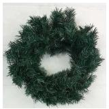 """2 Christmas Wreaths Approx 20"""" Wide Each - NEW"""
