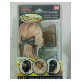 EZ Combs Stretchable Double Combs - NEW