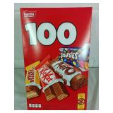 Box of 100 Nestle Assorted Mini Bars - NEW