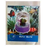 Water World Mini Aquarium - NEW
