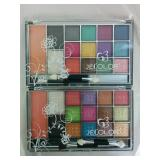 2 JeColor Eyeshadow MakeUp Pallettes - NEW
