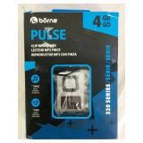 Borne Pulse Clip MP3 Player 4GB