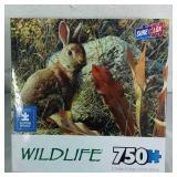 Sure Lox Wildlife 750 Piece Puzzle - NEW