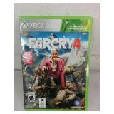 XBox 360 Farcry 4 - NEW OPEN PACKAGE