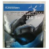 PlayStation 4 Afterglow LVL 5 Wired Headset - NEW
