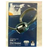 PlayStation4 LVL1 Afterglow Chat Headset