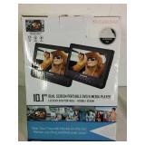 Sylvania 10.1 Dual Screen Portable DVD Player
