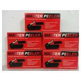 5 Master Peelers - NEW
