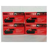 4 Master Peelers - NEW