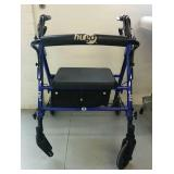 Hugo Fit 6 Folding Mobility Walker - USED READ