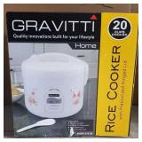 GRAVITTI 20CUP RICE COOKER