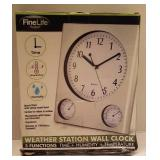 FINELIFE WEATHER STATION&CLOCK