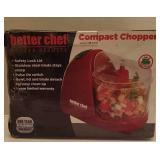 BETTER CHEF COMPACT CHOPPER