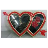 Twin Heart Flower Clock - NEW